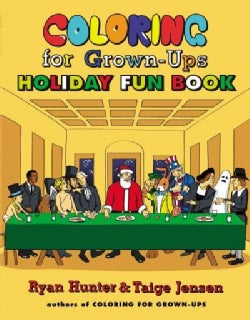 Coloring for Grown-ups Holiday Fun Book (Paperback)