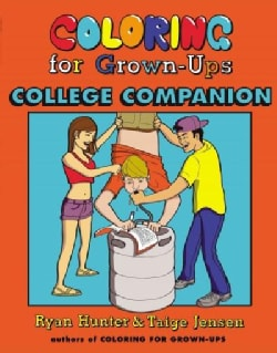 Coloring for Grown-ups College Companion (Paperback)