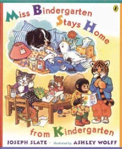 Miss Bindergarten Stays Home from Kindergarten (Paperback)