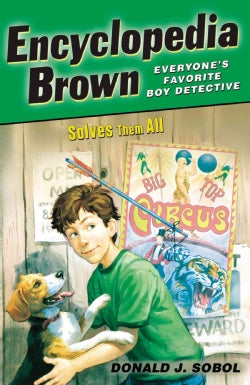 Encyclopedia Brown Solves Them All (Paperback)