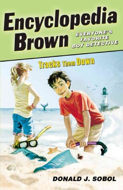 Encyclopedia Brown Tracks Them Down (Paperback)