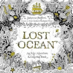 Lost Ocean Adult Coloring Book: An Underwater Adventure & Coloring Book (Paperback)