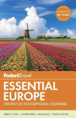 Fodor's Travel Essential Europe (Paperback)