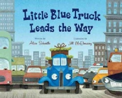 Little Blue Truck Leads the Way (Hardcover)