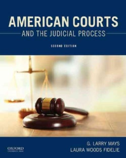 American Courts and the Judicial Process (Paperback)