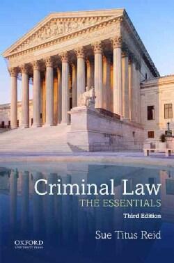 Criminal Law: The Essentials (Paperback)