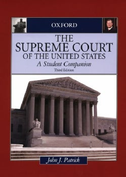 The Supreme Court of the United States: A Student Companion (Hardcover)