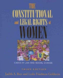 The Constitutional and Legal Rights of Women: Cases in Law and Social Change (Paperback)