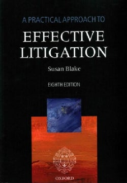 A Practical Approach to Effective Litigation (Paperback)