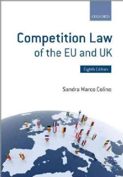 Competition Law of the Eu and Uk (Paperback)