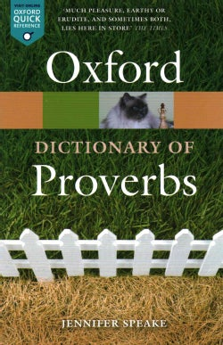 Oxford Dictionary of Proverbs (Paperback)
