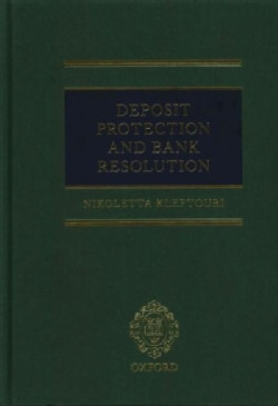 Deposit Protection and Bank Resolution (Hardcover)