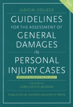 Guidelines for the Assessment of General Damages in Personal Injury Cases (Paperback)