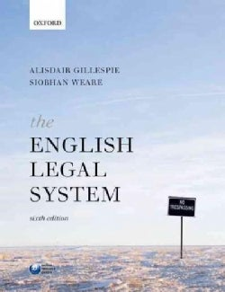 The English Legal System (Paperback)