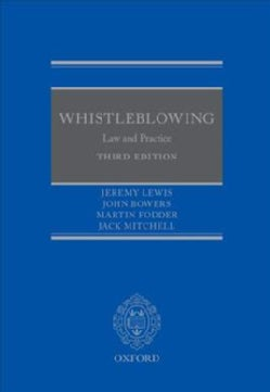 Whilstleblowing: Law and Practice (Hardcover)