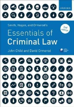 Smith, Hogan, and Ormerod's Essentials of Criminal Law (Paperback)