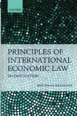 Principles of International Economic Law (Paperback)