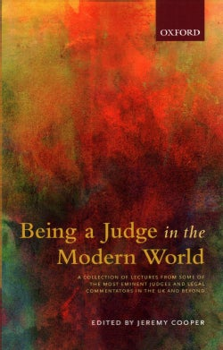 Being a Judge in the Modern World (Paperback)