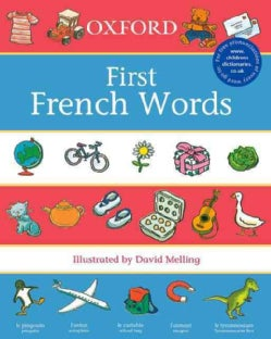 First French Words (Paperback)