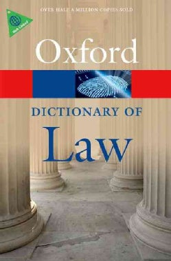 A Dictionary of Law (Paperback)