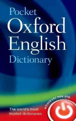 Pocket Oxford English Dictionary (Hardcover)