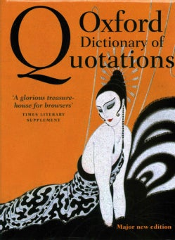 Oxford Dictionary of Quotations (Hardcover)