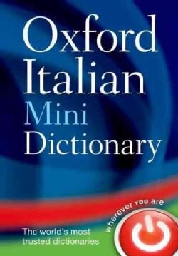 Oxford Italian Mini Dictionary: Italian-English/ English-Italian (Paperback)