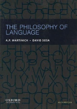 The Philosophy of Language (Paperback)