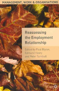 Reassessing the Employment Relationship: Examining Work, Employment and Human Resource Management (Paperback)