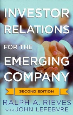 Investor Relations for the Emerging Company (Hardcover)