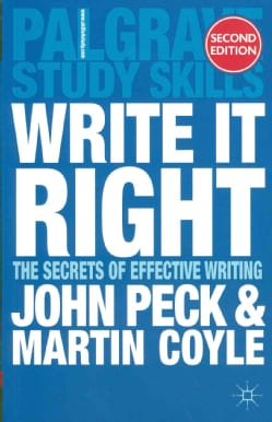 Write It Right: The Secrets of Effective Writing (Paperback)