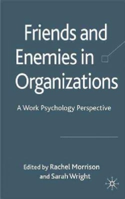 Friends and Enemies in Organizations: A Work Psychology Perspective (Hardcover)