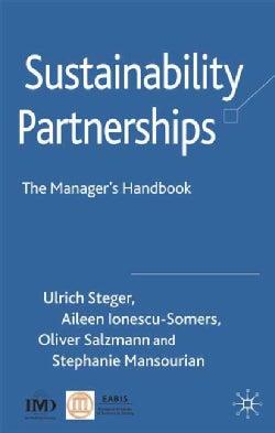 Sustainability Partnerships: The Manager's Handbook (Hardcover)