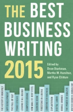The Best Business Writing 2015 (Paperback)