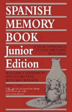 Spanish Memory Book: A New Approach to Vocabulary Building (Paperback)
