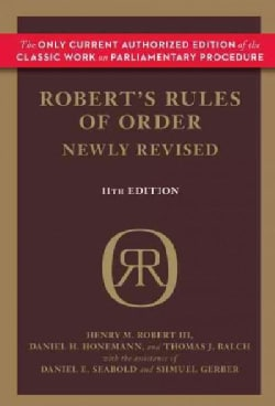 Robert's Rules of Order (Hardcover)