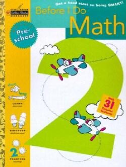 Before I Do Math: Preschool (Paperback)