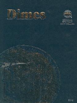 Dimes: Official Whitman Coin Folder (Hardcover)