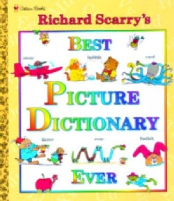 Richard Scarry's Best Picture Dictionary Ever (Hardcover)