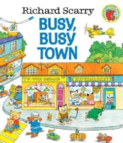 Richard Scarry's Busy, Busy Town (Hardcover)