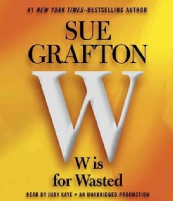 W is for Wasted (CD-Audio)