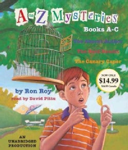 A to Z Mysteries Books A-c (CD-Audio)