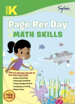 Kindergarten Page Per Day: Math Skills (Paperback)