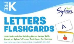 Letters Flashcards Pre-k (Cards)