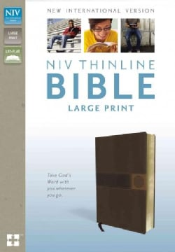 Holy Bible: New International Version, Brown, Italian Duo-Tone   (Paperback)