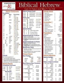 Biblical Hebrew (Wallchart)