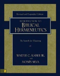 Introduction to Biblical Hermeneutics: The Search for Meaning (Hardcover)