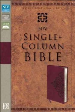 Holy Bible: New International Version, Cranberry, Italian Duo-Tone, Single-Column, (Paperback)