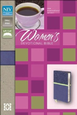 Women's Devotional Bible: New Internation Version Blueberry Italian Duo-Tone (Paperback)
