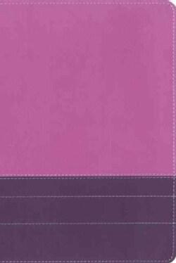 Life Application Study Bible: New International Version Dark Orchid / Plum Italian Duo-Tone (Paperback)